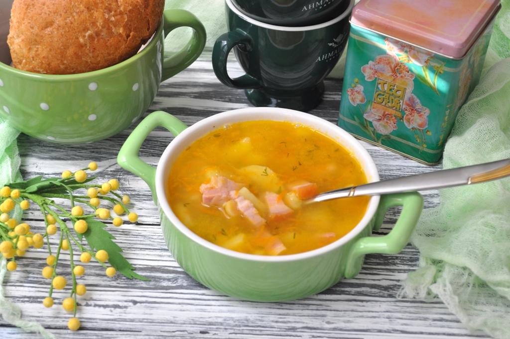 gorohovii-sup-grydinka