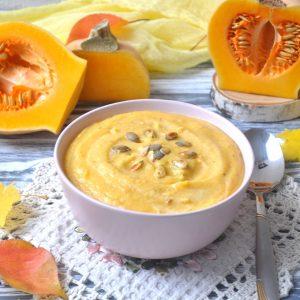 Рецепт супа пюре из тыквы со сливками