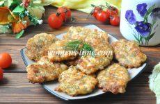 Рубленные котлеты из куриной грудки с сыром