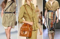 Стиль сафари — классика летнего гардероба