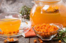 Как приготовить чай из замороженной облепихи