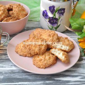 Печенье из кокосовой стружки рецепт