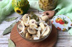 Рецепт маринованных шампиньонов в домашних условиях