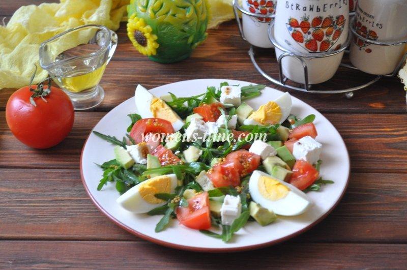 salat-rykkola-pomidori