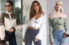 Какие женские блузки в моде в 2021 году. Новинки, тренды