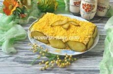 Салат с крекером и тунцом — рецепт с фото