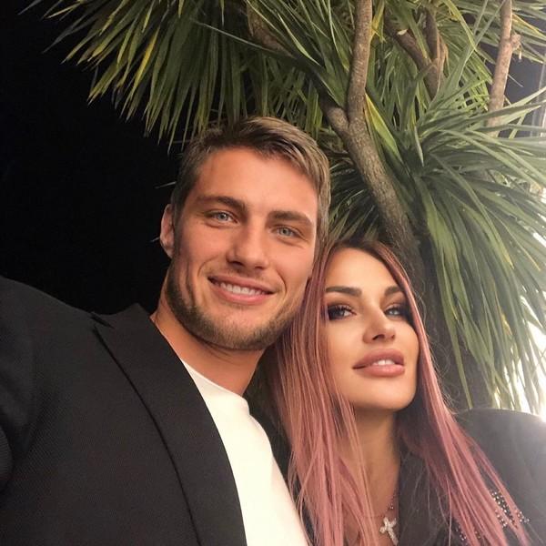 Александр Задойнов с женой Ксенией