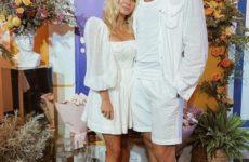 Гости в белом и огромный букет от любимого. Как прошел день рождения невесты Ивана Телегина