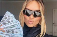 Ханна потратила полмиллиона рублей на аксессуары и обувь от Dior