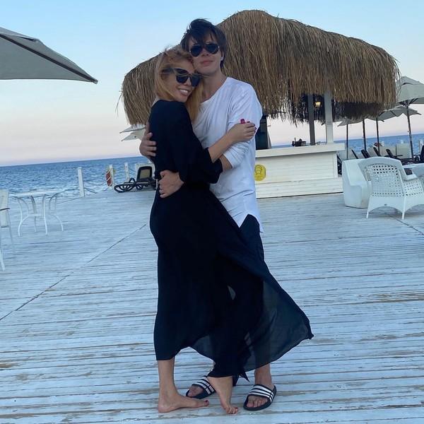 Анастасия Стоцкая с актером Александром Казьминым