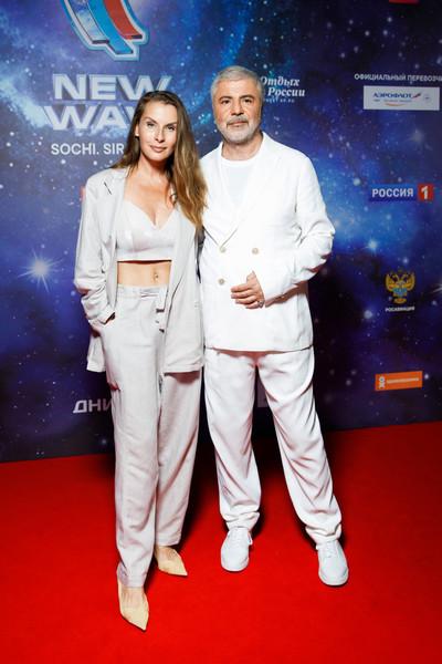 Сосо Павлиашвили с женой