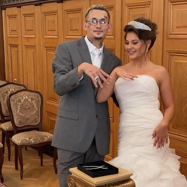 Теперь официально! Моргенштер и Дилара муж и жена