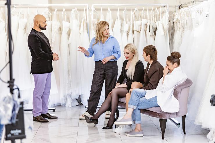 Марина Федункив будет искать свадебное платье в эфире реалити