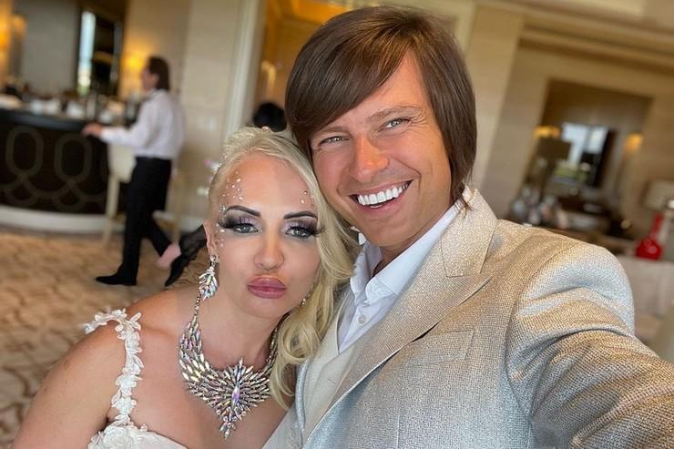Прохор Шаляпин с женой Татьяной Клаудией Девис