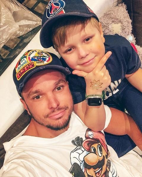 Антон очень редко видится с сыном