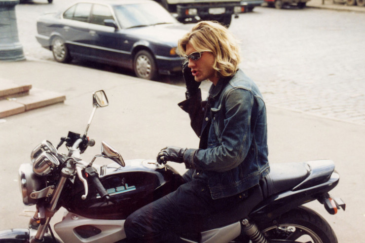 Леонид часто рассказывал о своей любви к мотоциклам