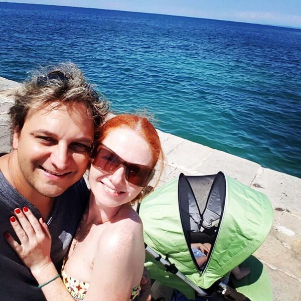 В 2013 году «татушка» вышла замуж за музыканта Сашо Кузмановича