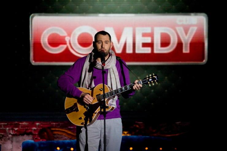 В 2010-м артист стал резидентом Comedy