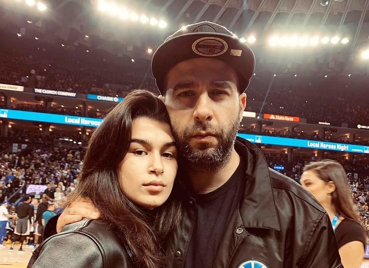 Иван Ургант с дочерью Эрикой