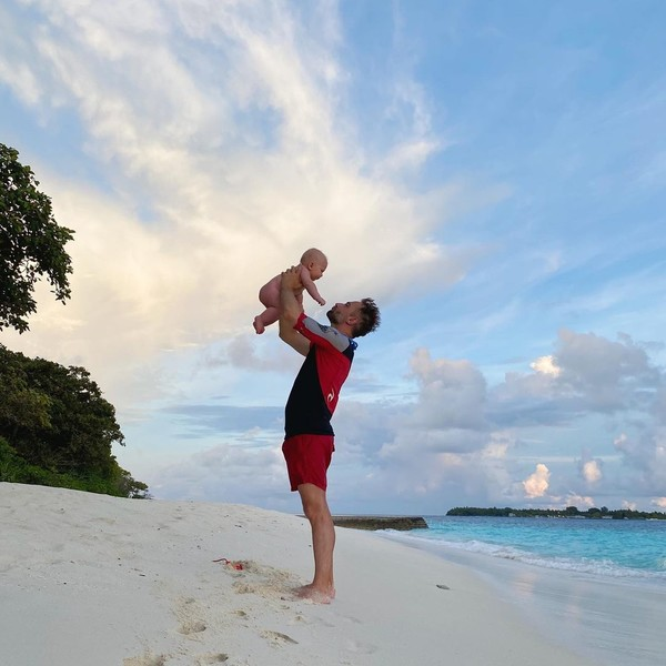Шепелев и сын Тихон отдыхают на Мальдивах