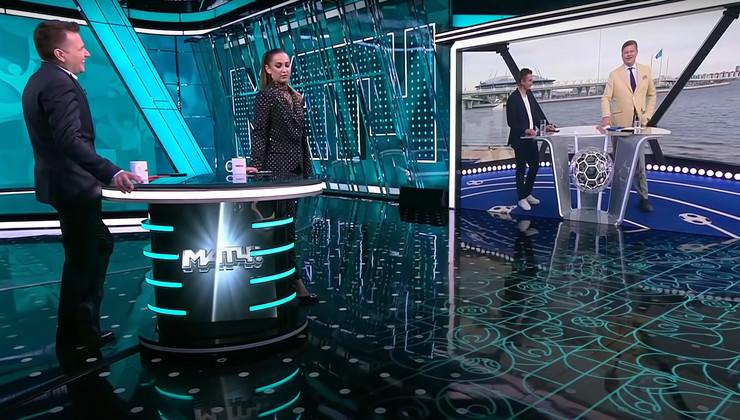 Прямой эфир «Матч ТВ», на котором Оля устроила истерику