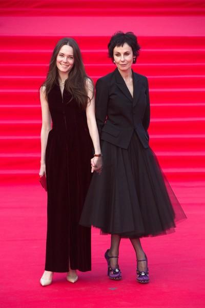Ирина Апексимова с дочерью Дарьей Авратинской