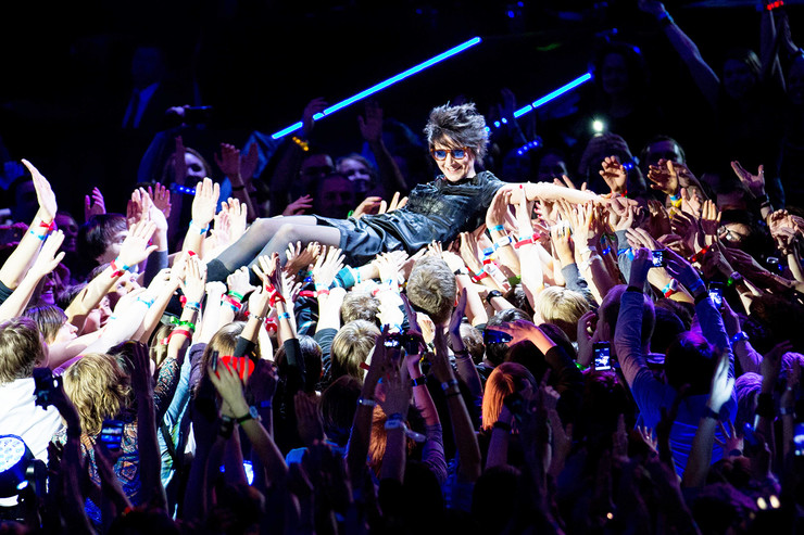 Поклонники всегда ждали гастролей звезды с нетерпением