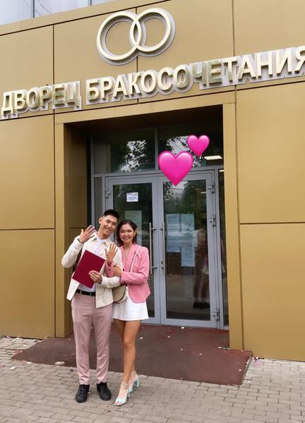 Светлана Гомбоева с мужем