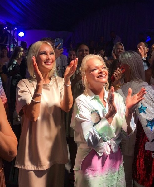 Лера Кудрявцева и Лариса Долина отрывались на afterparty