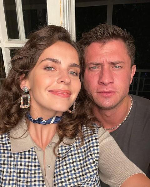 Лиза Моряк и Павел Прилучный