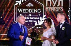 «Невеста просто красавица»: фото со свадьбы старшей внучки Александра Лукашенко