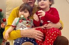 Младшей дочери 81-летнего Эммануила Виторгана исполнилось два года