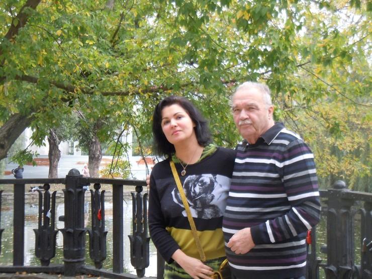 Анна Нетребко с отцом