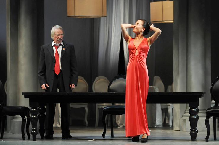 55 лет артист выступает на сцене Театра имени Комиссаржевской