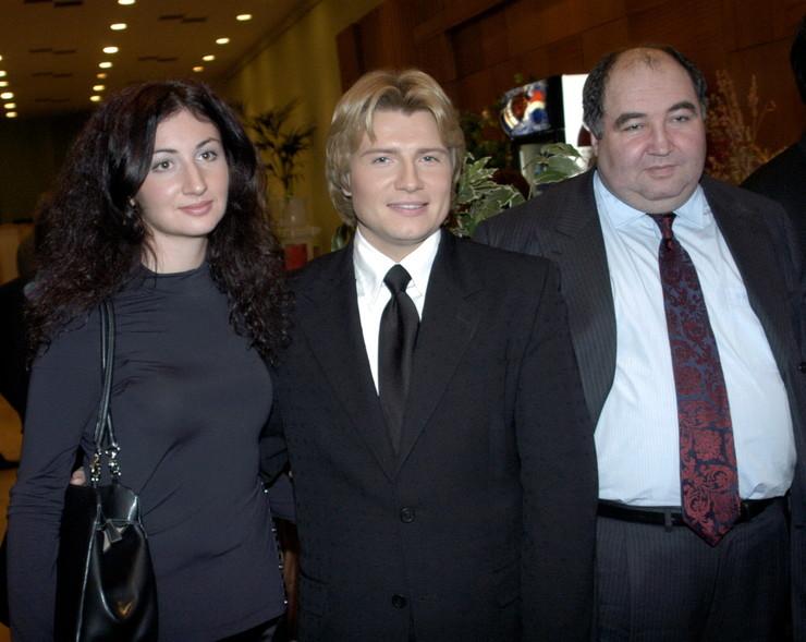 Брак Баскова и дочери Бориса Шпигеля продлился около семи лет