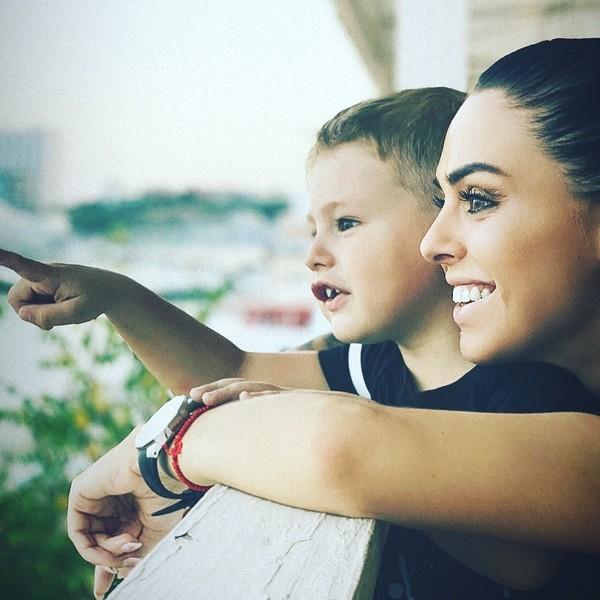 Евгения надеется, что в будущем ее сын и дочь Пелагеи будут общаться