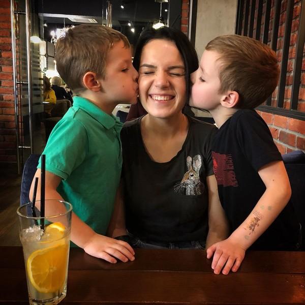 Маргарита делает все, чтобы семейная трагедия никак не сказалась на ее детях