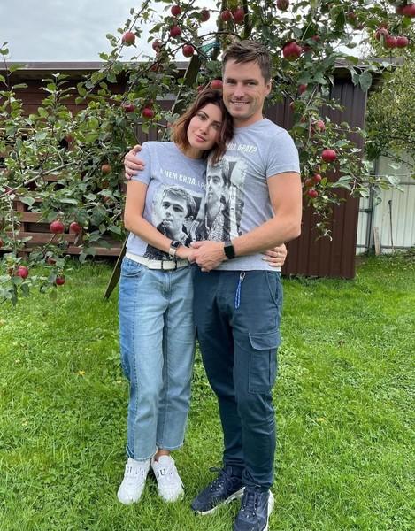 Анастасия Макеева с мужем Романом
