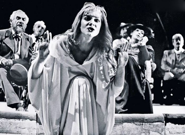 В театре актриса нашла призвание