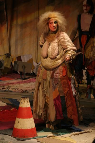 Актриса блистала в спектакле «Мамаша Кураж»