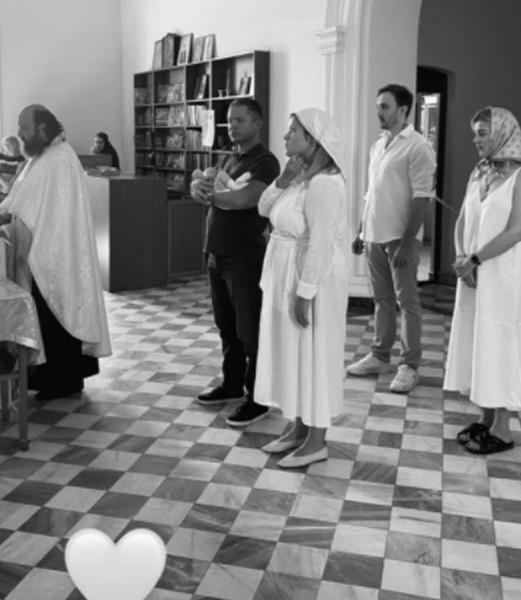 Таинство прошло в одном из храмов Еревана