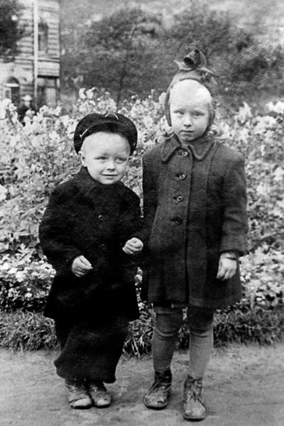 В детстве Борис Галкин был очень привязан к сестре