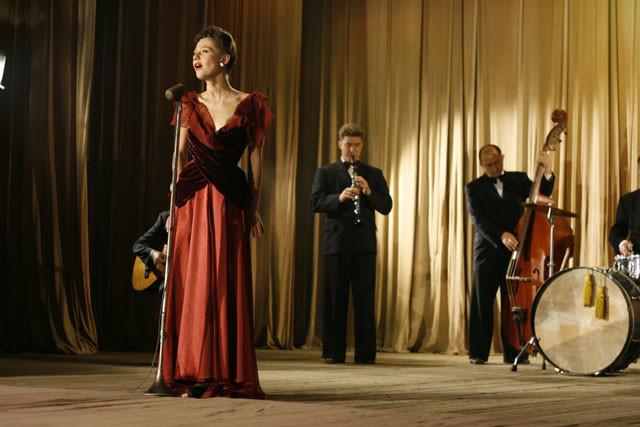 В «Ликвидации» Полина сыграла певицу