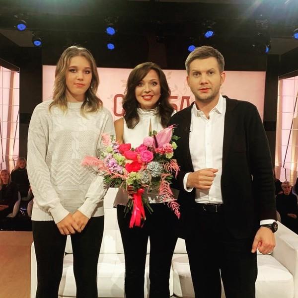 Шитова с дочерью стали гостями шоу Бориса Корчевникова