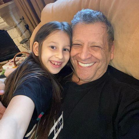 Борис Грачевской с дочерью Василисой