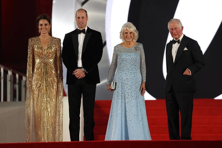 Члены королевской семьи остались довольны киноновинкой