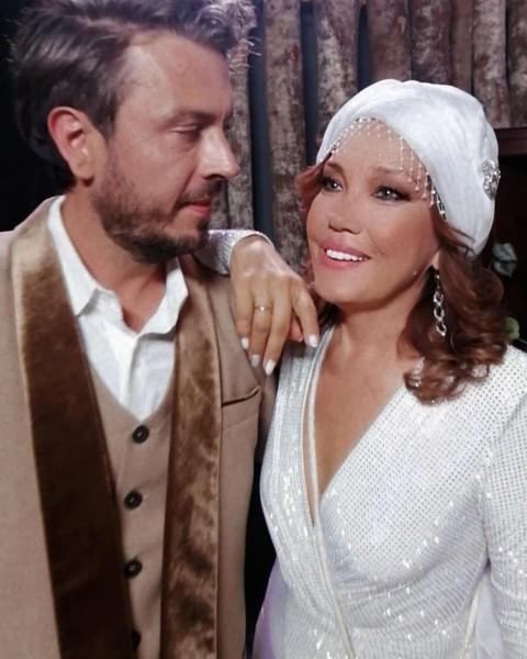Певица Азиза с мужем Алессандро