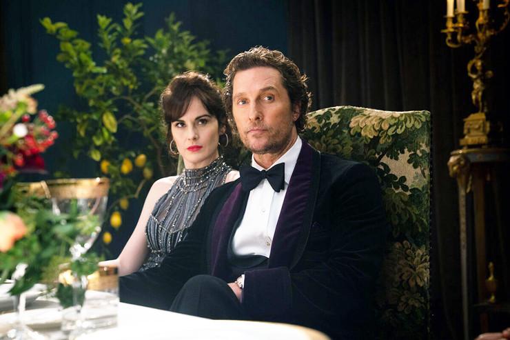 В «Джентльменах» Мишель сыграла жену героя Мэтью Макконахи