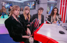 Группа Maneskin разбудила Россию в «Бригаде У» на «Европе Плюс»