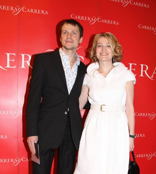 Андрей Кузичев и Виктория Толстоганова